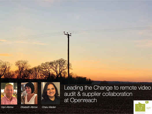 Glyn Albrow and Elisabeth Albrow, Process and Delivery professionals at Openreach